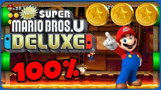5-C Iggy's Volcanic Castle ❤️ New Super Mario Bros. U Deluxe ❤️ 100% All Star Coins