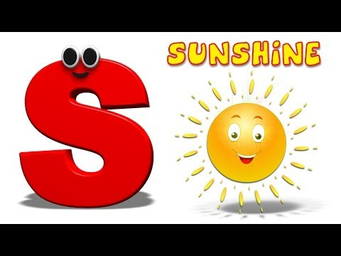 Phonics Letter- S song | Alphabet Rhymes For Toddlers | ABC Songs For Children by Kids Tv