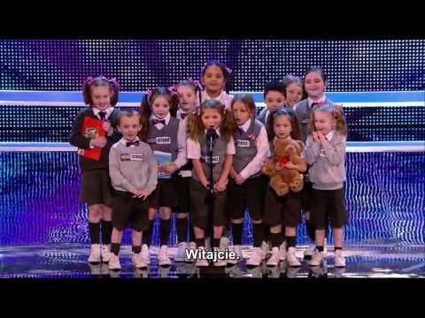 (Napisy)Brytyjski Mam Talent 7 - PRE-SKOOL