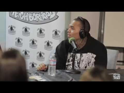Chris Brown Talks Alien Encounters; Translates Alien Audio