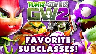 My Favorite Subclasses in Plants vs. Zombies: Garden Warfare 2!