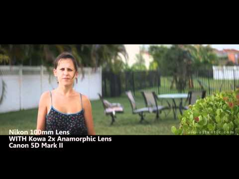 Anamorphic Lens Shots - Before & After