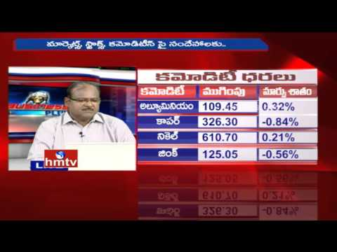 Stock Market Updates   Experts Anil KT And Rajendra Prasad   Business Plus   28-04-16   HMTV