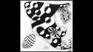 Weekly Zentangle® Tangle Video-STRIRCLES-July 13-19, 2015