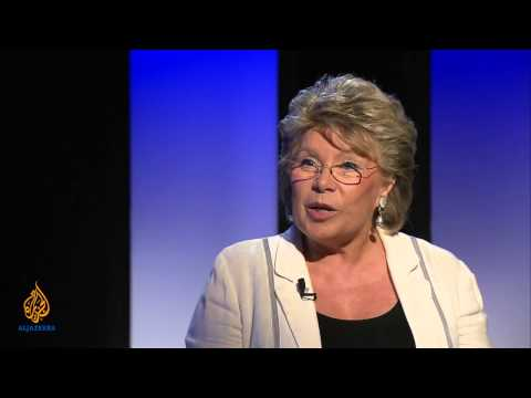 Talk to Al Jazeera - Viviane Reding: 'Data protection is a right'