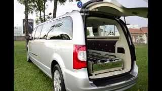 TOWN & COUNTRY FUNERAL CAR - Hearse