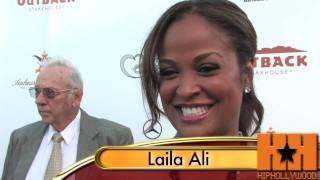 Laila Ali Gives Baby Advice - HipHollywood.com