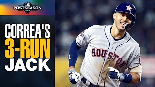 Carlos Correa's 3-run shot puts Astros WAY up on Yankees in ALCS Game 4 | MLB Highlights