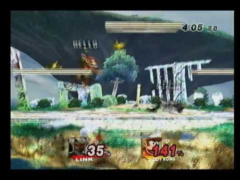 Brawl - E4UR Singles - Ninja the Link Sage (Link) vs DAO (Diddy Kong) Pools