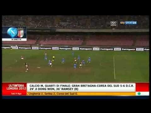 Amichevole Napoli-Sporting Braga 3-1 04/08/12