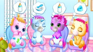 Baby Pony Sisters Care Kids Game - Fun Virtual Pet Care, Horse Nanny & Dress Up Games For Babies