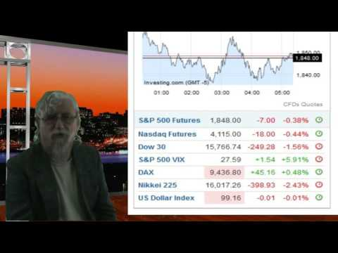 Stocks are crashing Jan 21 2016