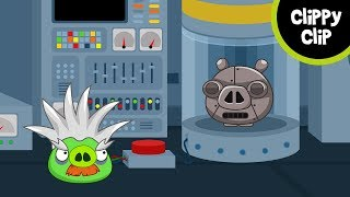 Custom Angry Birds and Bad Piggies Animation: Pig Drone