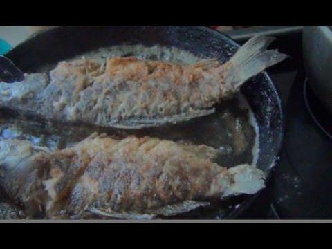 как поймать и приготовить рыбу