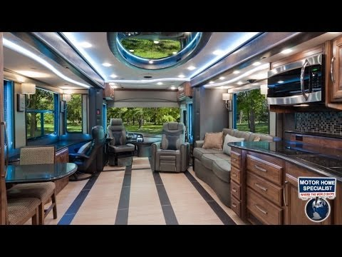 2014 Foretravel ih45 Luxury RV review at MHSRV.com