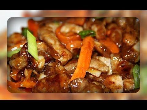 Свинина по- китайски
