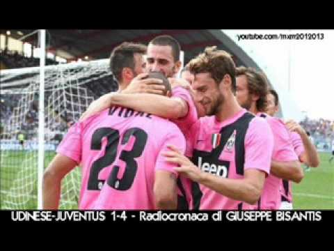 UDINESE-JUVENTUS 1-4 – Radiocronaca di Giuseppe Bisantis (2/9/2012) da RadioUnoRai