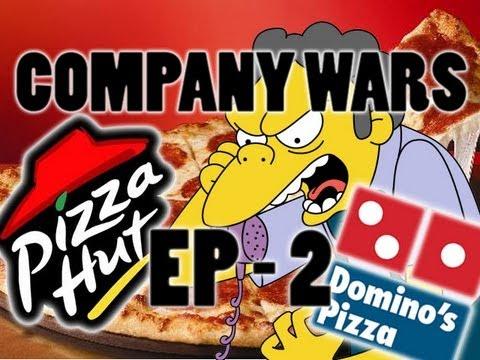 Pizza Hut Vs Domino's - Company wars 2