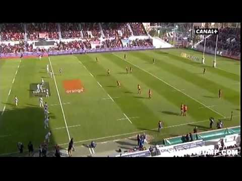 Tries in France 2011 2012 day 24 Toulon - Castres