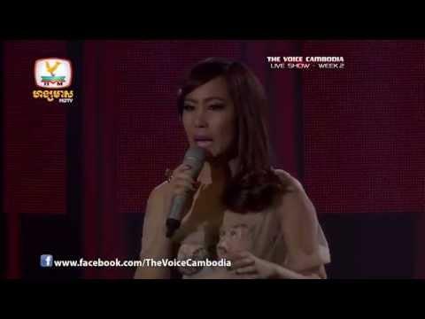 The Voice Cambodia - Live Show 2 - Arom Pel Baek - Chenda Vita