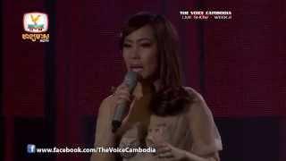 The Voice Cambodia - Live Show 2 - អារម្មណ៍ពេលបែក - ចិន្តា វីតា