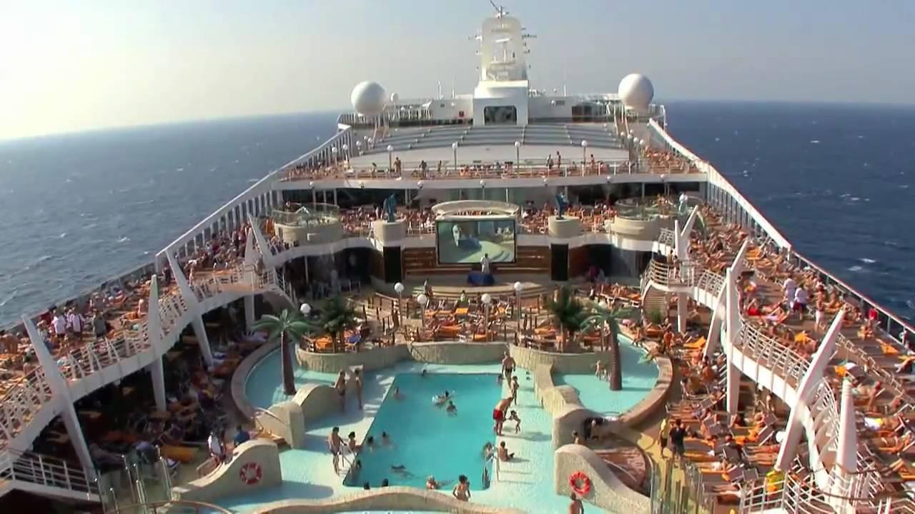 Msc Splendida Cruise Ship Youtube