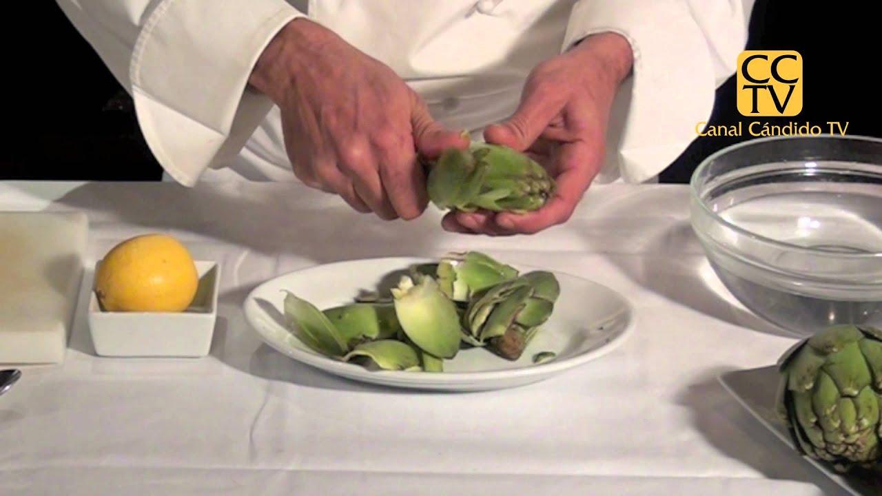 Preparar corazones de alcachofa youtube - Como hacer alcachofas en salsa ...