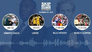 Cowboys/Eagles, Lakers, Bills/Patriots, Rockets/Clippers | UNDISPUTED Audio Podcast