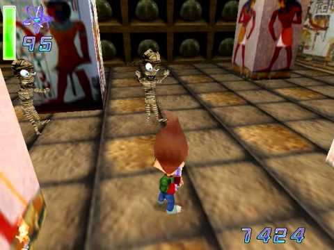 Jimmy Neutron VS Jimmy Negatron walkthrough part 6: Eygiption Level (Second Half)