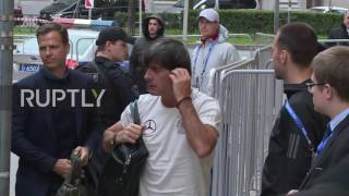 Russia: German team arrives in St Petersburg for ConCup final