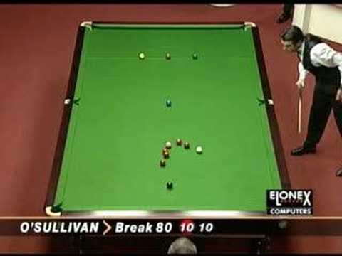 Ronnie O'Sullivan 147 fastest break