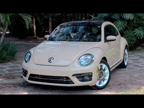 2019 VW Beetle--The Final Wolfsburg Edition