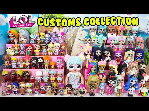 LOL Customs Collection + Updated LOL Big Sister/Brother Collection