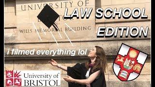 GRADUATION DAY IN THE LIFE // BRISTOL LAW SCHOOL