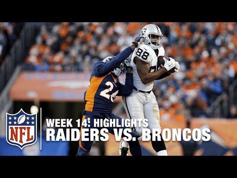 Raiders Vs Broncos Week 14 Highlights Nfl