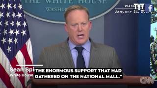 Sean Spicer​ = The. WORST. Press. Secretary. Of All Time. Period.