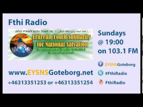 Fthi Radio: interview with participants of the Oslo demonstration, May 24, 2013