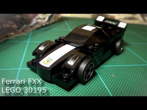Shell V-Power - LEGO® model Ferrari Collection FXX set 30195