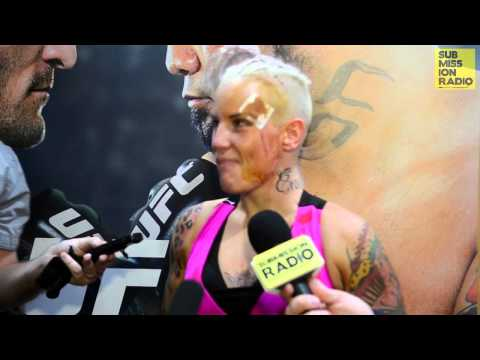 UFC Fight Night Adelaide: Bec Rawlings Post Fight