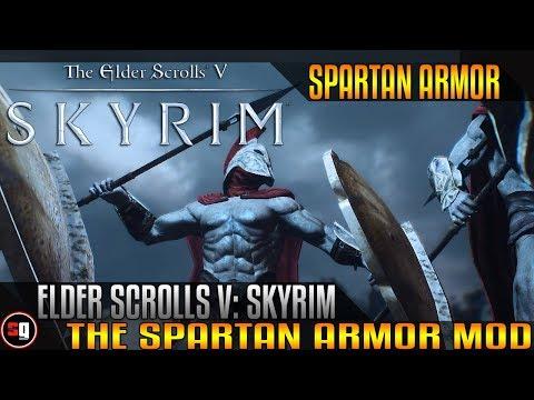 The Elder Scrolls V: Skyrim - Spartan Armor Mod