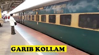 Kochuveli Yesvantpur Garib Rath Arrives Kollam Junction