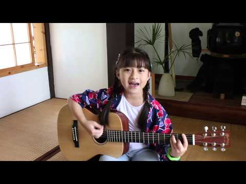 キセキ Kiseki - GReeeen Guitar Acoustic Cover By Gail Sophicha 9 Years Old. น้องเกล