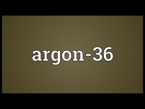 Header of Argon-36