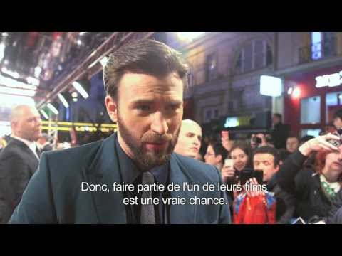 Captain America : Le Soldat de l'Hiver - Featurette de l'avant-première française