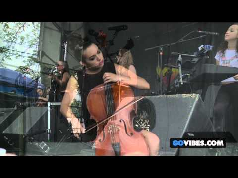 "von Grey performs ""Chained To You"" at Gathering of the Vibes Music Festival 2013"