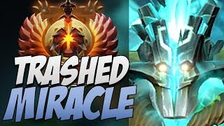 Liquid.Miracle Juggernaut - TRASHED Dota 2 7.22