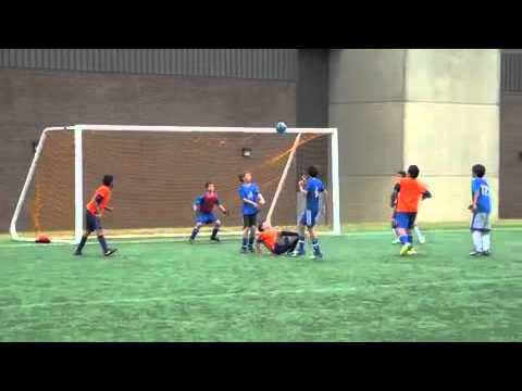 13 Years old kid Scores Amazing Bicycle kick goal