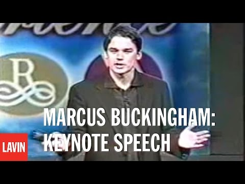Marcus Buckingham Keynote Speech