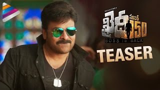 Khaidi No 150 Movie Teaser Chiranjeevi Kajal Aggarwal Ram Charan VV Vinayak Fan Made