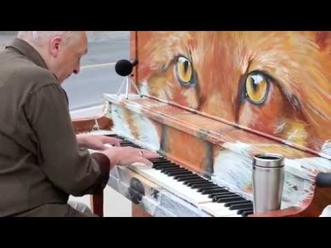Michael Mcnamara Plays My Street Piano foxgang Amadeus: Say Something video